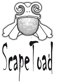 Scapetoad logo by Andre Ourednik